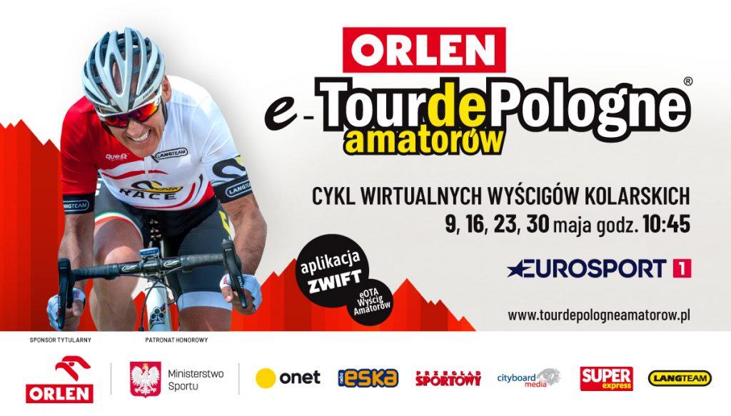 Oficjalna koszulka ORLEN e-Tour de Pologne Amatorów od firmy Quest