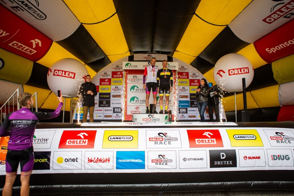 ORLEN Lang Team Race w Bytowie wielkim świętem kolarstwa
